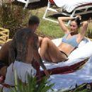 Oriana Sabatini in Bikini at the pool in Miami - 454 x 327