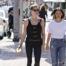 Ashley Greene in Spandex – Grabs a lunch in LA