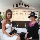 Jennifer Hawkins Bmw Australian Derby In Sydney