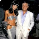 Hugh Hefner and Carrie Lee - 391 x 629