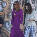Isla Fisher – Filming 'The Beach Bum' in Miami