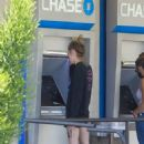 Cara Delevingne – Makes a trip to her local Chase atm in Los Angeles