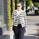 Kate Mara – Shopping on Melrose Place in Los Angeles