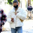 Nina Agdal – Out for a walk in New York - 454 x 889