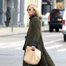 Meg Ryan in Long Coat out in NYC - 454 x 681