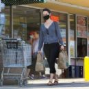 Odette Annable – Goes shopping at Whole Foods in LA