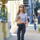 Alessandra Ambrosio out and about in Santa Monica November 16,2015