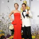 Jennifer Lawrence and Matthew McConaughey - The 86th Annual Academy Awards - Press Room - 454 x 595