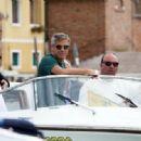 George Clooney Leaving 66th International Venice Film Festival