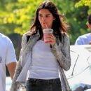 Kendall Jenner – shopping for drinks at CHa Cha Matcha in West Hollywood