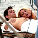 """Blake Lively - On """"Gossip Girl"""" Set In New York, 27.06.2008."""