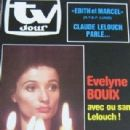 Evelyne Bouix - TV Jour Magazine Cover [Belgium] (6 February 1985)