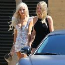 Sofia Richie and Pia Mia Perez – Leaves Nobu in Malibu