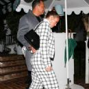 Jennifer Lopez and Alex Rodriguez – Leaving the San Vicente Bungalows in West Hollywood