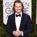 Sam Heughan At The 73rd Golden Globe Awards - Arrivals (2016) - 454 x 636