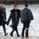 Kris Jenner – Arriving at Jennifer Lawrence's rehearsal dinner in Rhode Island