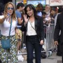 Shannen Doherty – Arrives at Good Morning America in New York City - 454 x 678