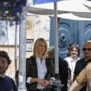 Gwyneth Paltrow Films A New Advert For Tod's, 2008-05-09