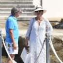 Catherine Zeta Jones on holiday in France - 454 x 629