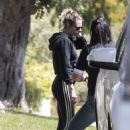 Kristen Stewart – Seen with a friend in Los Feliz – California