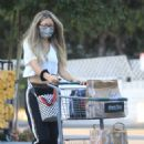 Rebecca Gayheart – Shopping candids at Bristol Farms in Beverly Hills - 454 x 681