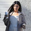 Kourtney Kardashian – Leaving Kanye West's Studio in Los Angeles - 454 x 679