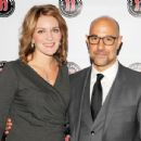 Stanley Tucci and Felicity Blunt - 454 x 345