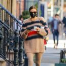 Irina Shayk – With Bradley Cooper celebrate their daughter's birthday in New York