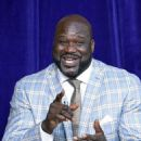 Former Los Angeles Lakers player Shaquille O'Neal speaks after unveiling of his statue at Staples Center March 24, 2017, in Los Angeles, California