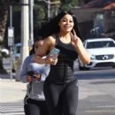 Blac Chyna, King Cairo, and Dream Kardashian Out in Los Angeles, California - January 21, 2018 - 454 x 681