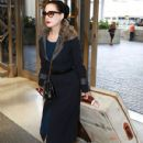Dita Von Teese departing on a flight at LAX airport in Los Angeles, California on March 22, 2015 - 431 x 600