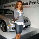 Eva LaRue - Mercedes-Benz Fashion Week
