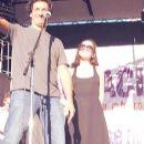 Natalia Oreiro and Ricardo Mollo