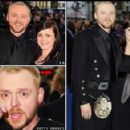 Simon Pegg and Maureen McCann - 454 x 292