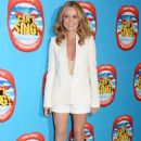 Amanda Holden I Cant Sing Press Night In London