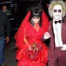 Bella Hadid and The Weeknd – Heidi Klum's 19th Annual Halloween Party in NYC