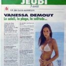 Vanessa Demouy - Tele K7 Magazine Pictorial [France] (29 July 1995) - 441 x 651
