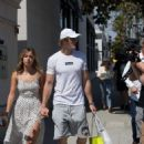 Chloe Bennet and boyfriend Logan Paul – Shopping in Beverly Hills - 454 x 615
