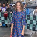 Leighton Meester – Arrives at AOL Build Speaker Series in New York - 454 x 599