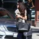 Selena Gomez leaves a friend's house on January 22, 2013 in Studio City, California - 411 x 594
