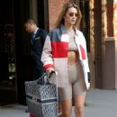 Bella Hadid – Leaves her hotel in Tribeca