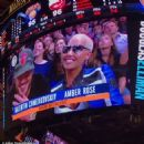 Amber Rose and Val Chmerkovksiy at The Knicks Game at Madison Square Garden in New York City - January 16, 2017  - December 9, 2016 - 454 x 453