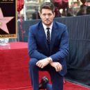 Michael Buble Honored With Star On The Hollywood Walk Of Fame - 433 x 600