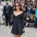 Natalie Portman – Christian Dior Fashion Show FW 2017 in Paris