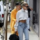 Hailey and Justin Bieber – Celebrating Justin's 26th birthday at a spa in West Hollywood