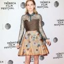 Zoey Deutch – 'Vincent N Roxxy' Premiere at 2016 Tribeca Film Festival in New York