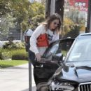 Mandy Moore with her fiancee out in Los Angeles - 454 x 596