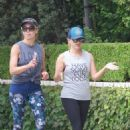 Reese Witherspoon – Jogging Candids at Brentwood