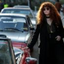 Natasha Lyonne – Filming 'Russian Doll' in New York - 454 x 303