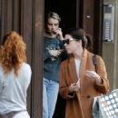Emma Roberts – Leaving her hotel in Barcelona